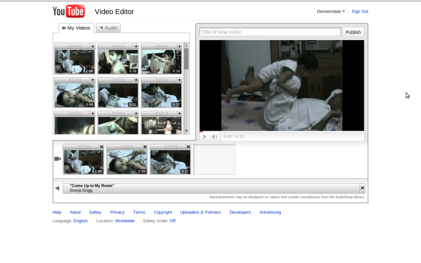 Youtube introduces basic online video editing – DECISION STATS