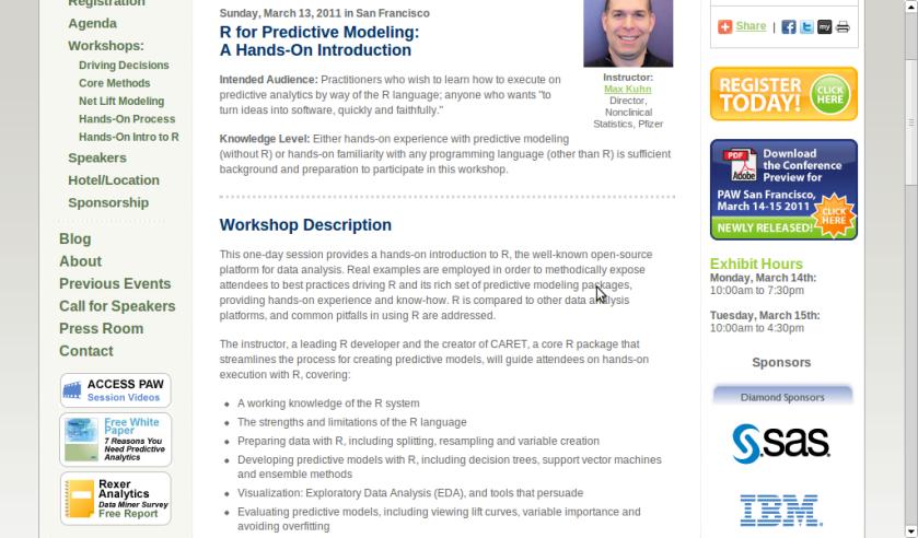 R for Predictive Modeling:Workshop – DECISION STATS