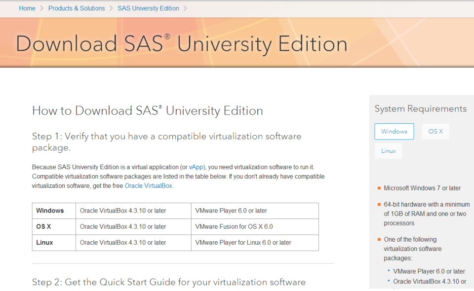 download sas for free