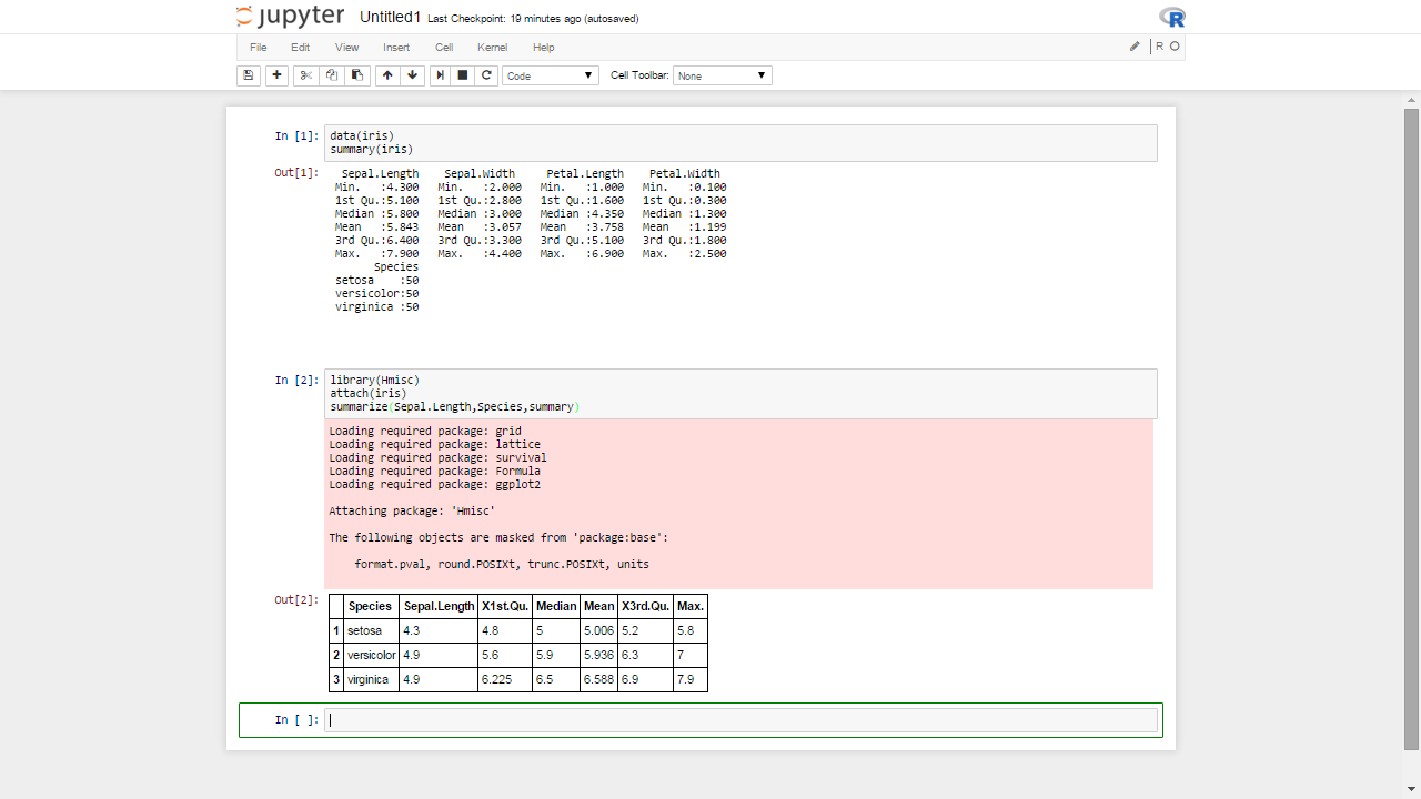 Language In 45 And 47 Stella Street: How Jupyter Ipython Threaten The Dominance Of RStudio For